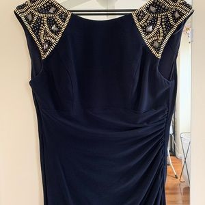 Elegant gown.